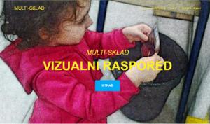 Aplikacija Vizualni raspored dostupna putem web preglednika